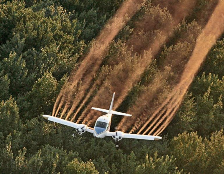 aerial application of pesticides
