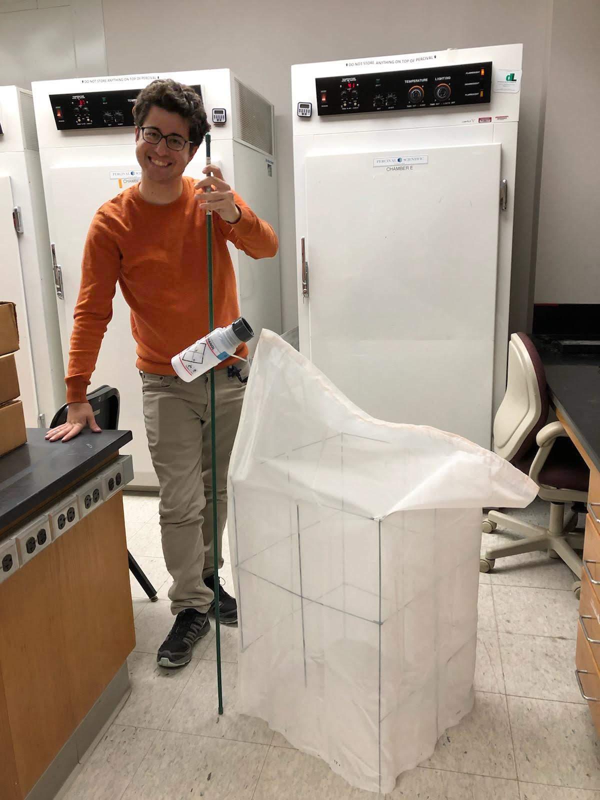 Max Ferlauto builds an emergence trap prototype
